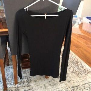 Free People classic black shirt